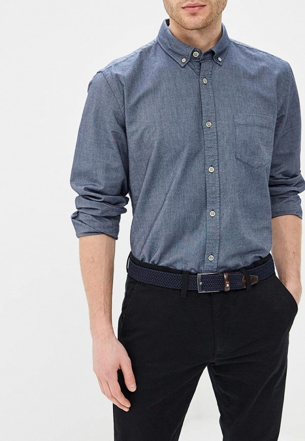 мужская рубашка с длинным рукавом ovs, серая