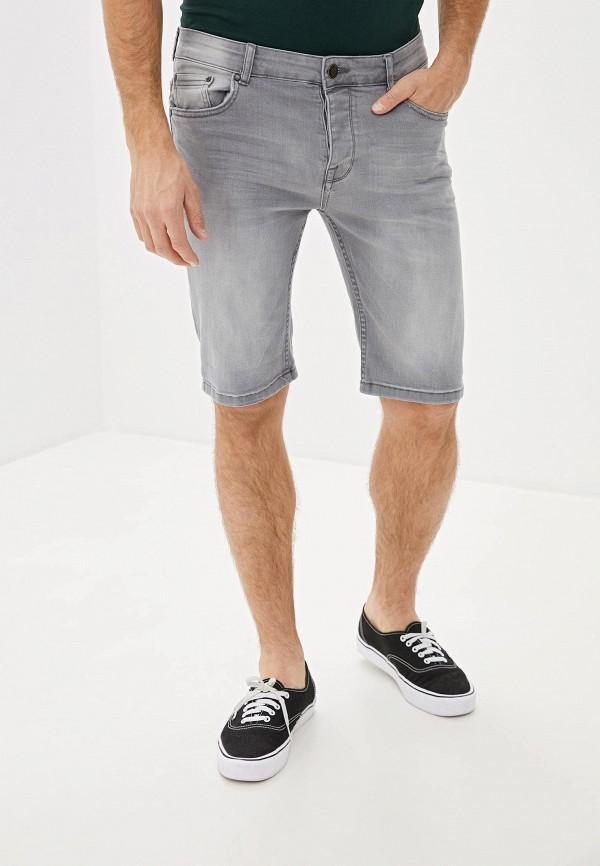 мужские джинсовые шорты ovs, серые