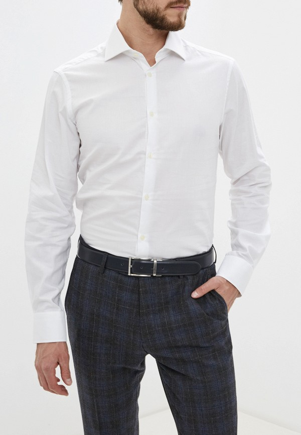 мужская рубашка с длинным рукавом ovs, белая