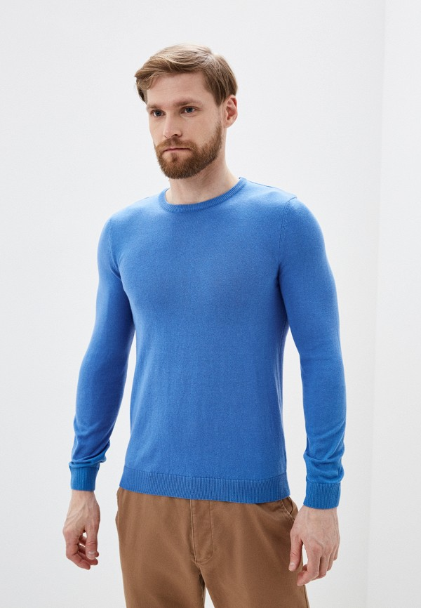 мужской джемпер ovs, голубой
