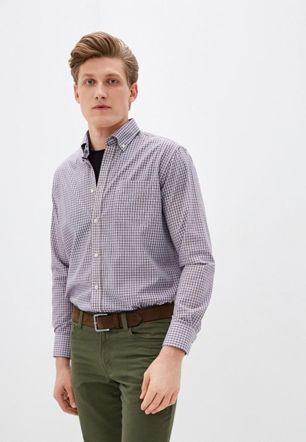 мужская рубашка с длинным рукавом ovs, фиолетовая