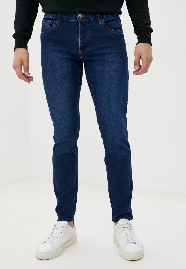 мужские зауженные джинсы ovs, синие
