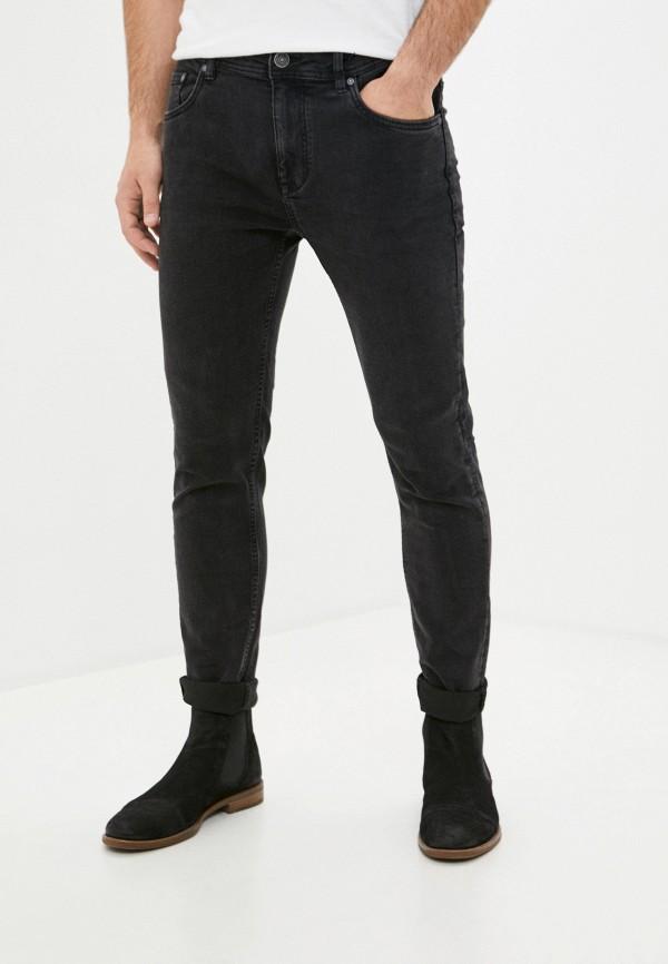 мужские зауженные джинсы ovs, черные