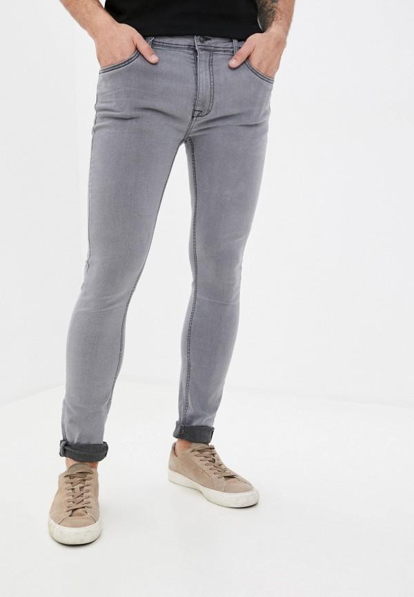 мужские зауженные джинсы ovs, серые