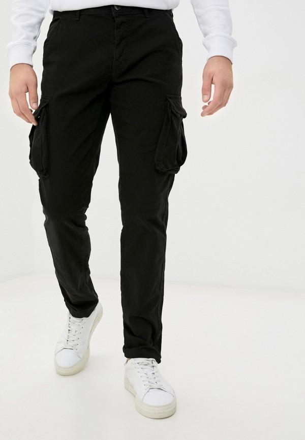 мужские брюки ovs, черные