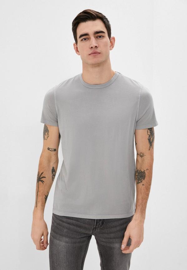 мужская футболка с коротким рукавом ovs, серая