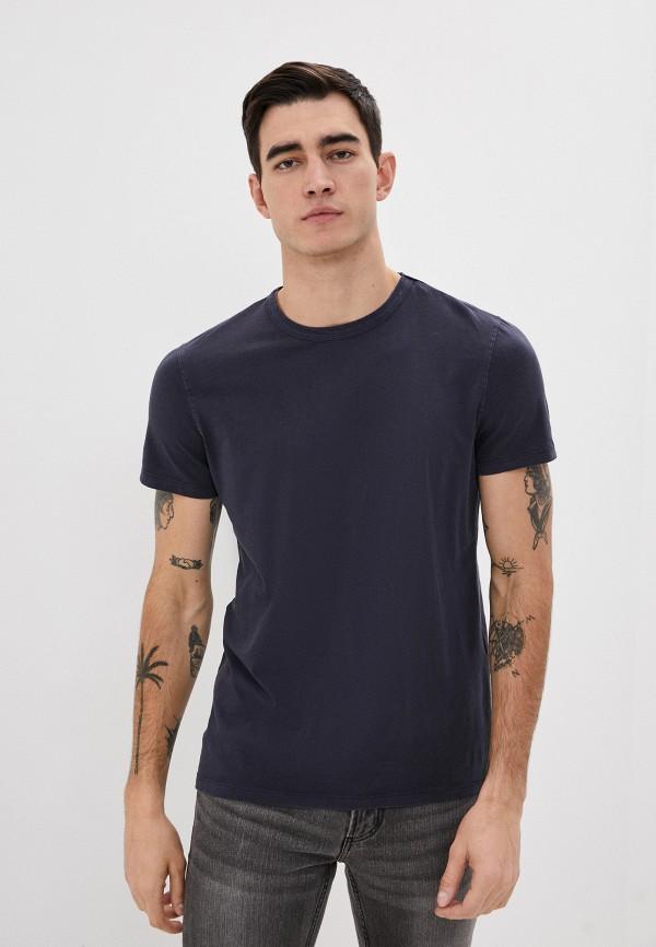 мужская футболка с коротким рукавом ovs, синяя