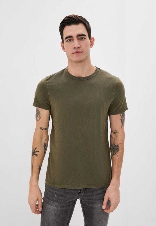 мужская футболка с коротким рукавом ovs, хаки