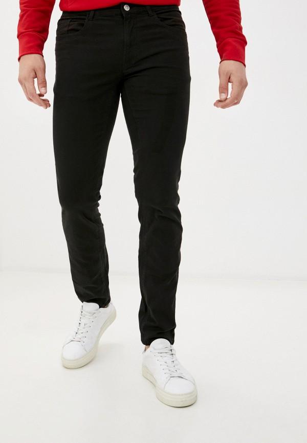 мужские зауженные брюки ovs, черные