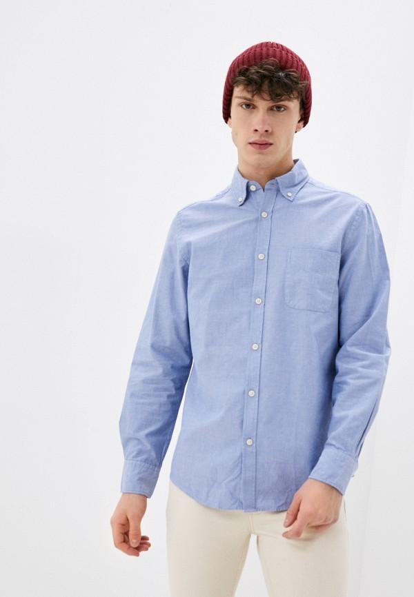 мужская рубашка с длинным рукавом ovs, голубая