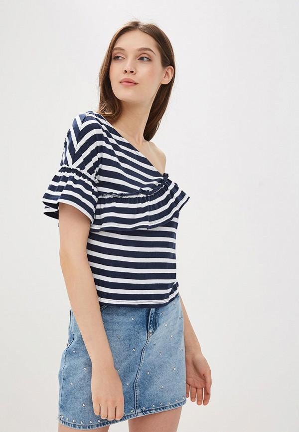 Купить Блуза OVS, ov001ewaytw9, синий, Весна-лето 2018