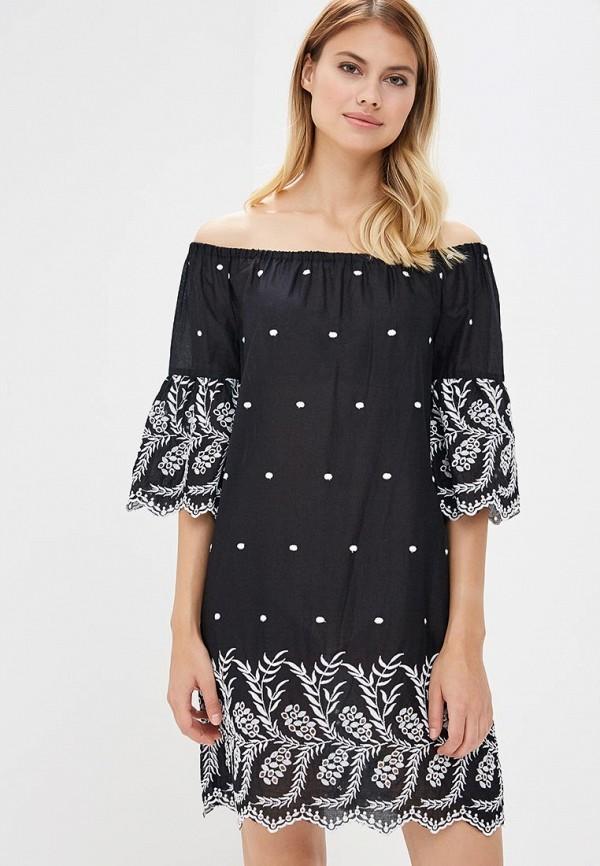 Купить Платье OVS, OV001EWAYUN1, черный, Весна-лето 2018