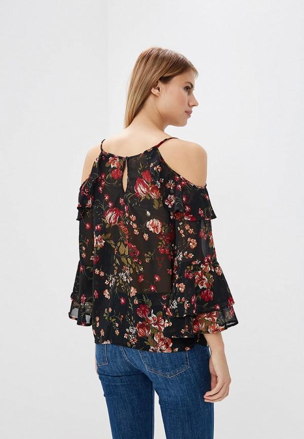 Фото 7 - женскую блузку OVS черного цвета