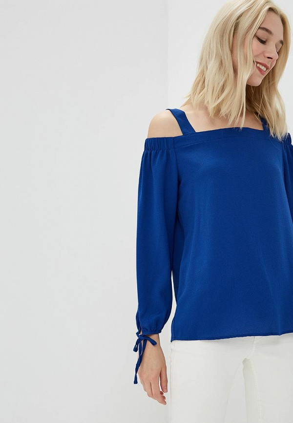 Купить Блуза OVS, ov001ewayvq4, синий, Весна-лето 2018