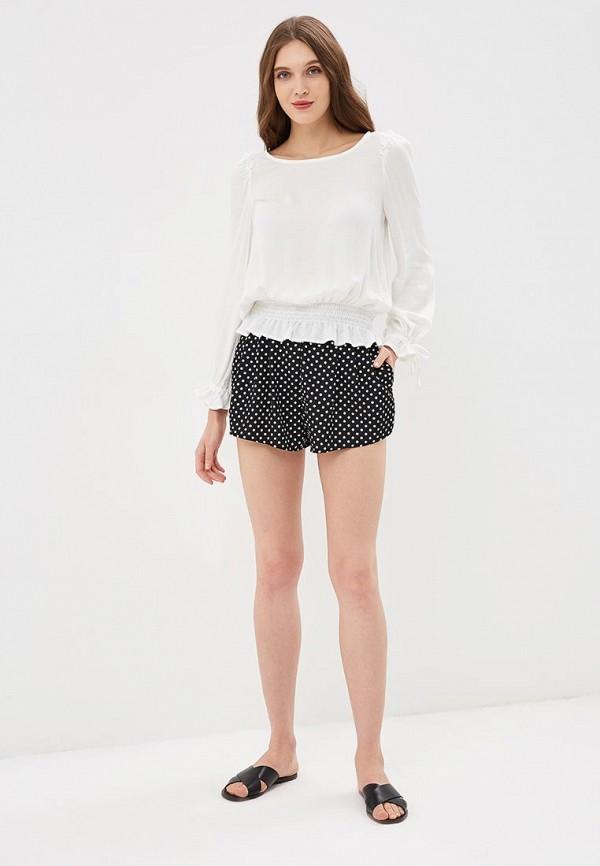 Фото 3 - женские шорты OVS черного цвета