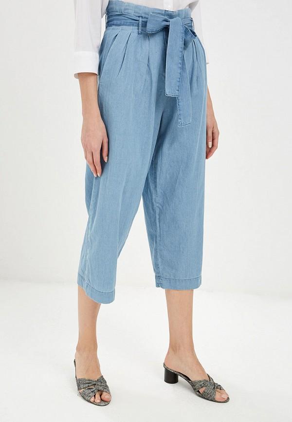 женские повседневные брюки ovs, голубые