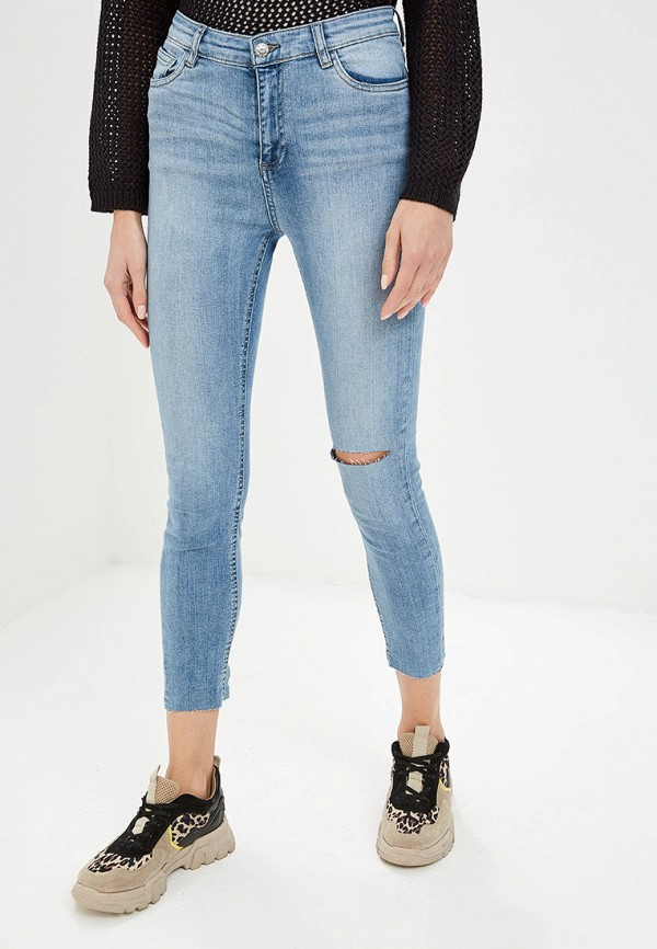 женские джинсы ovs, голубые