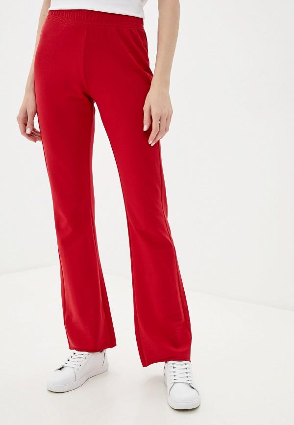 женские повседневные брюки ovs, красные
