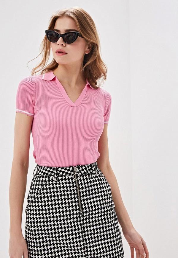 женское поло ovs, розовое
