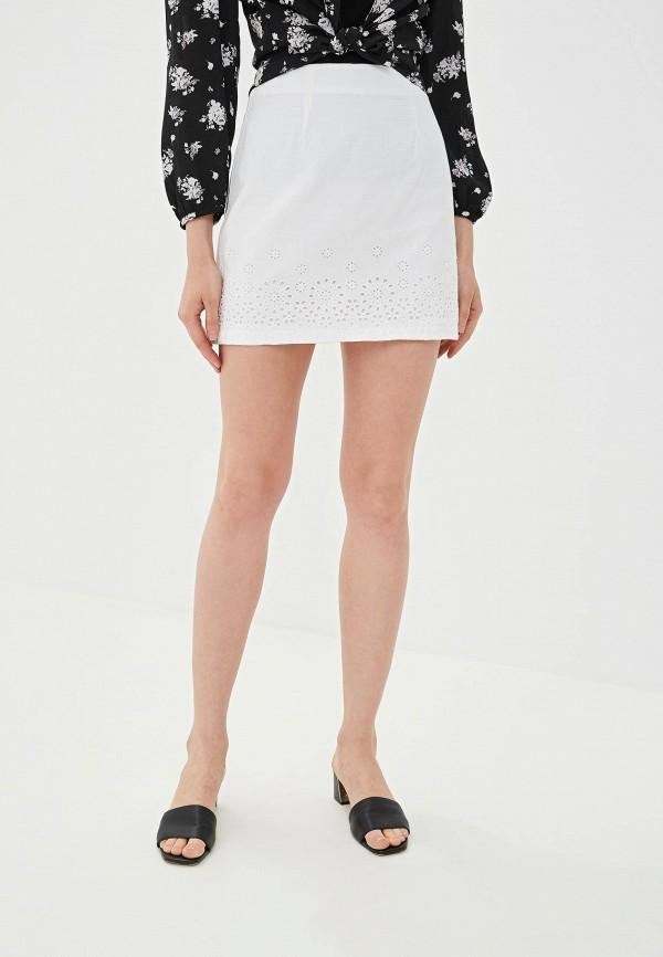 женская прямые юбка ovs, белая