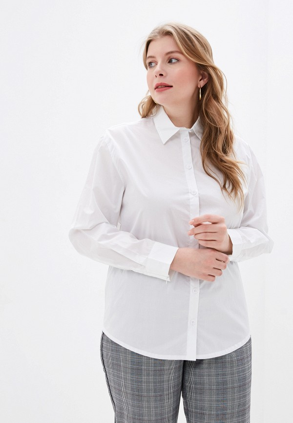 женская рубашка с длинным рукавом ovs, белая