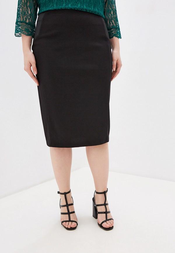 женская юбка ovs, черная