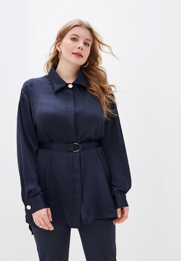 женская блузка ovs, синяя