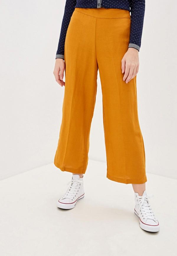 женские повседневные брюки ovs, оранжевые