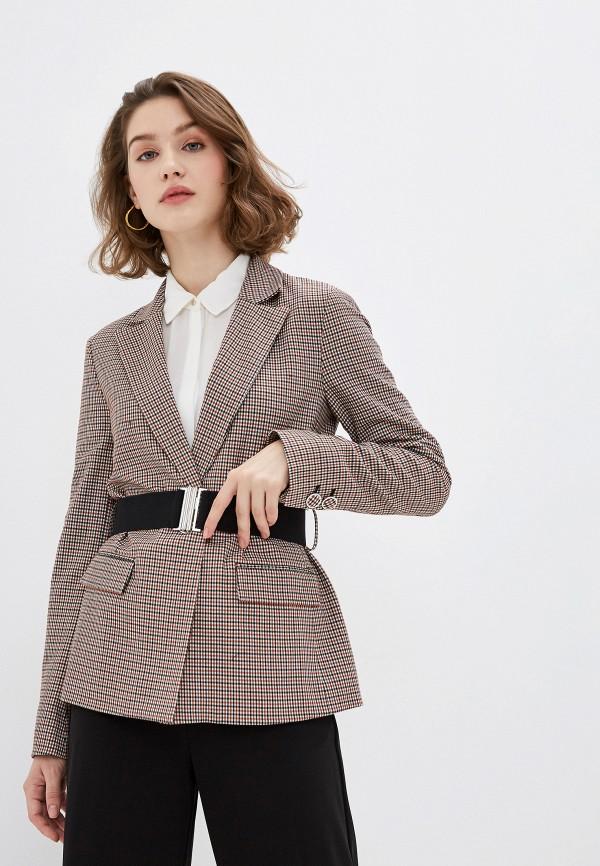 женский пиджак ovs, коричневый