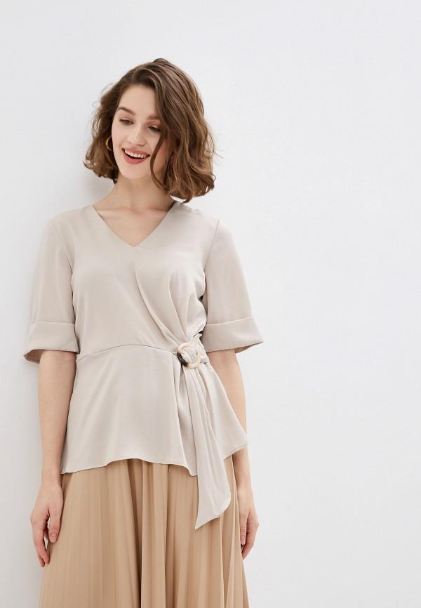 женская блузка ovs, бежевая