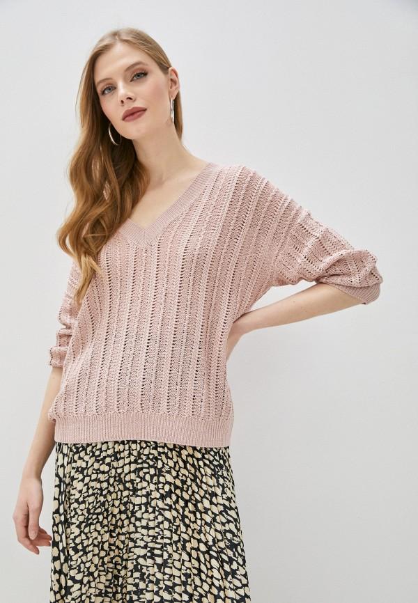 женский пуловер ovs, розовый