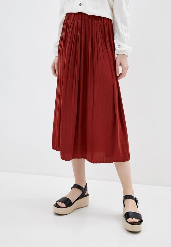 женская юбка ovs, красная