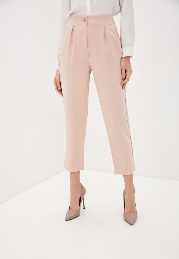 женские классические брюки ovs, розовые
