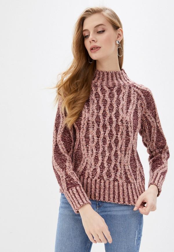 женский свитер ovs, бордовый