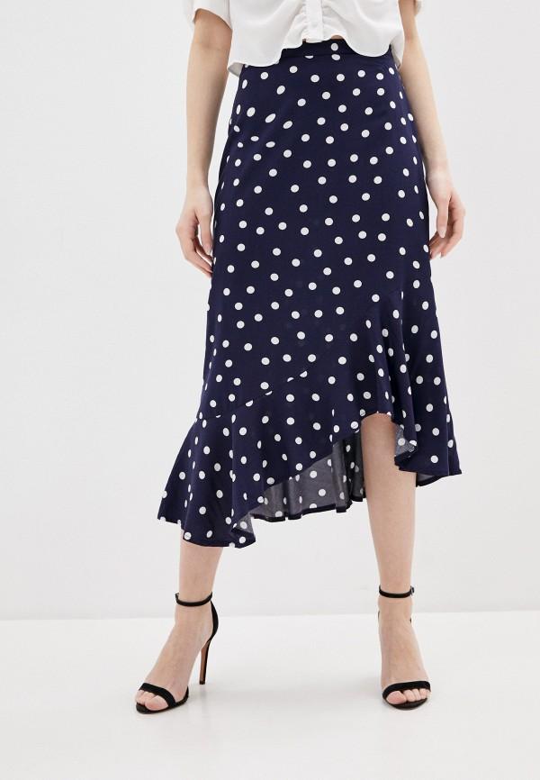 женская юбка ovs, синяя