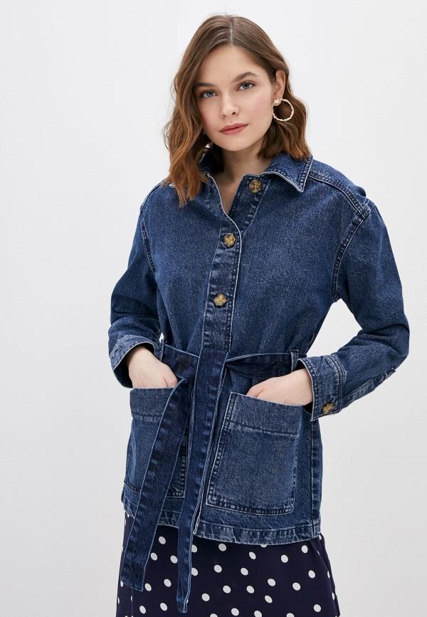 женская джинсовые куртка ovs, синяя