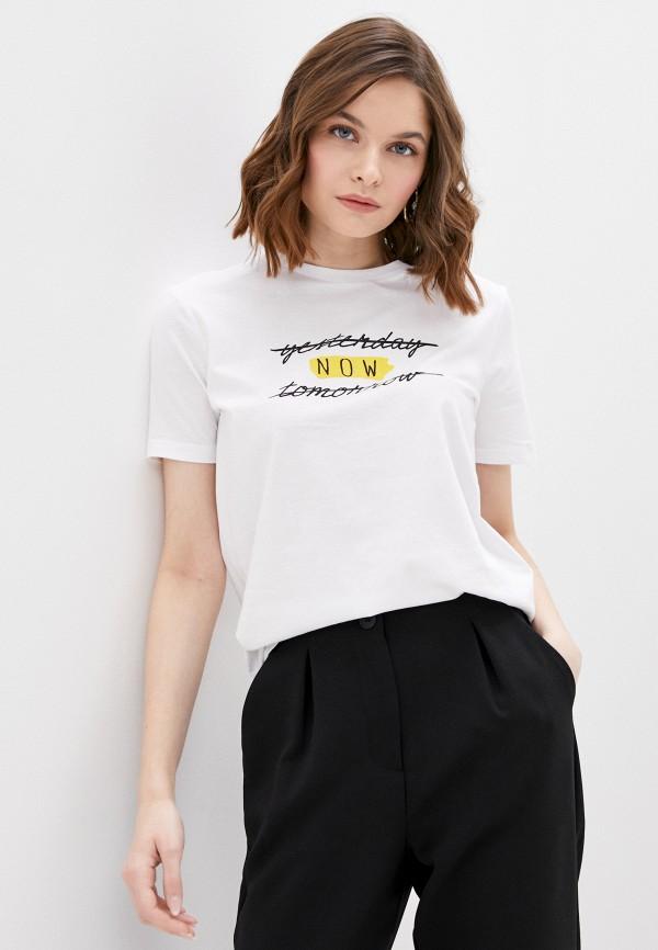 женская футболка ovs, белая