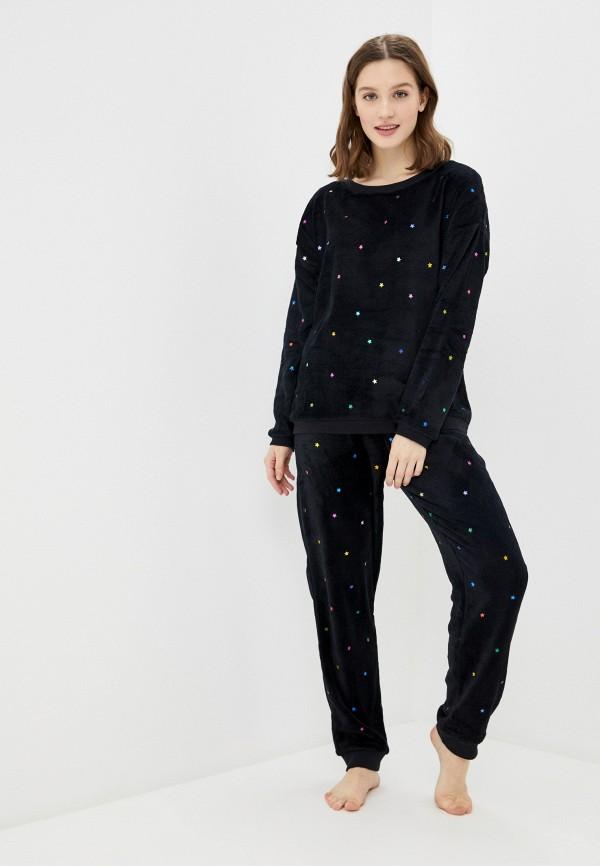 женская пижама ovs, черная