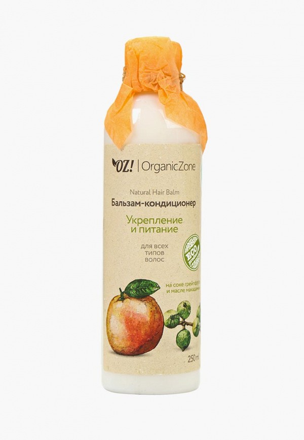 Купить Бальзам для волос OZ! OrganicZone, для всех типов Укрепление и питание 250 мл, oz001lwcowj2, белый, Осень-зима 2018/2019