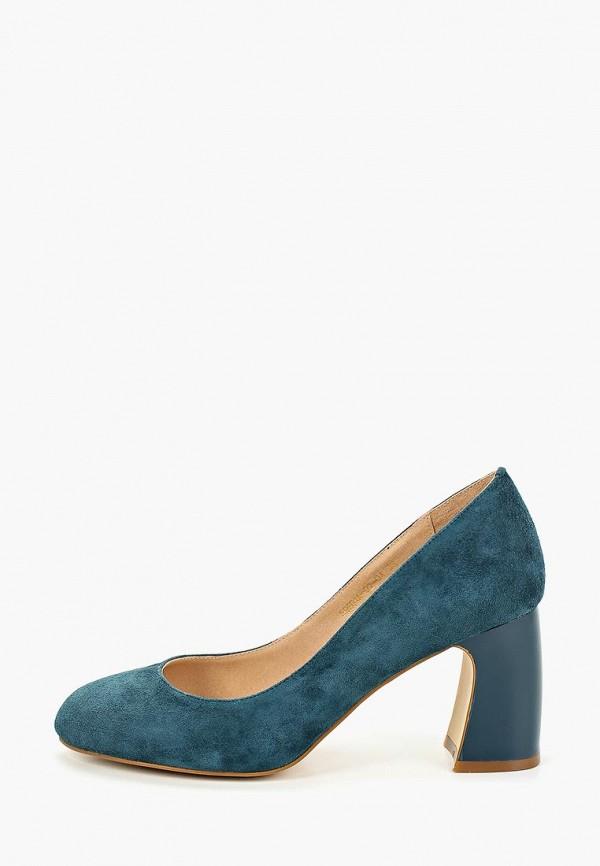 Фото - Туфли Palazzo D'oro синего цвета