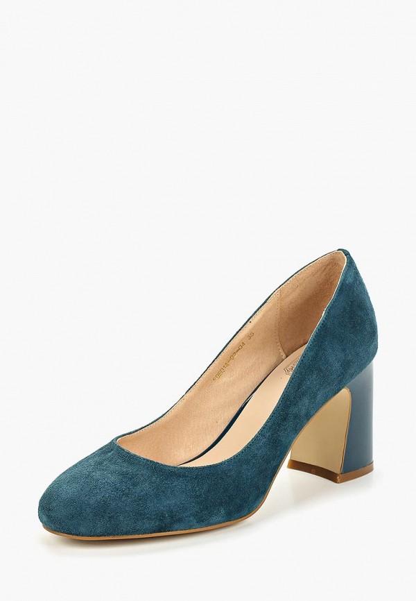Фото 2 - Туфли Palazzo D'oro синего цвета