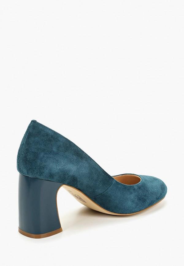 Фото 3 - Туфли Palazzo D'oro синего цвета