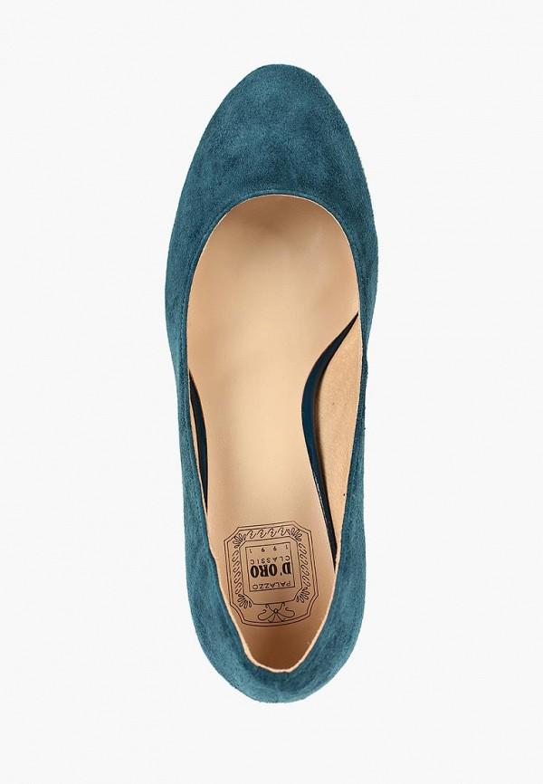 Фото 4 - Туфли Palazzo D'oro синего цвета