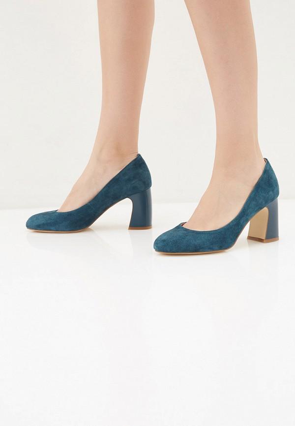 Фото 6 - Туфли Palazzo D'oro синего цвета