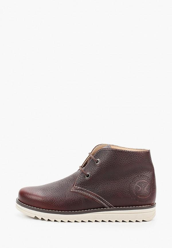 ботинки pablosky для мальчика, коричневые