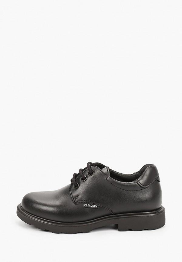 туфли pablosky для мальчика, черные