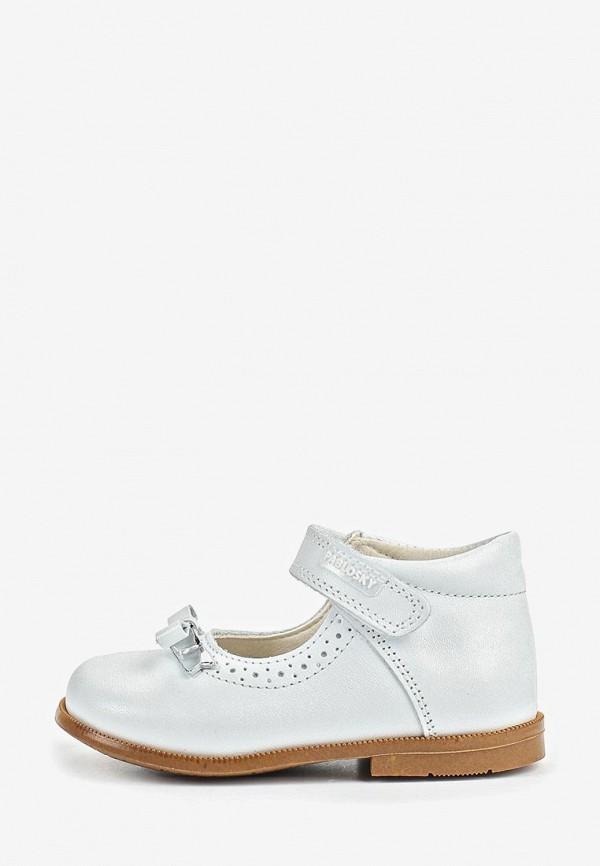 туфли pablosky для девочки, белые
