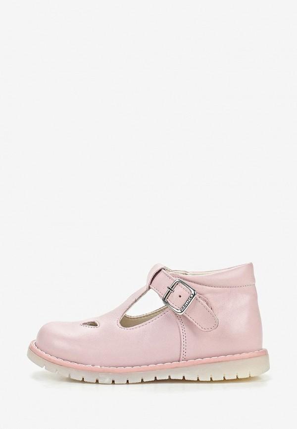 туфли pablosky для девочки, розовые