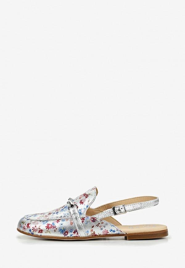 туфли pablosky для девочки, серебряные