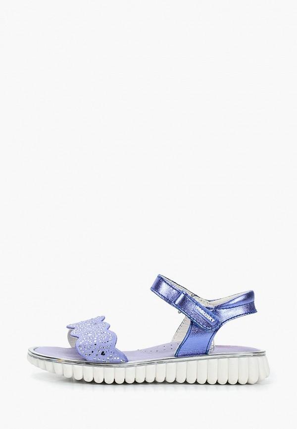 сандалии pablosky для девочки, синие